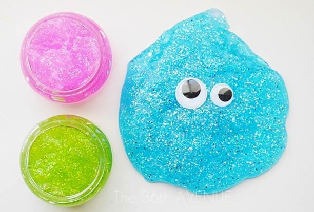 Como fazer massinha com glitter