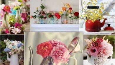 Photo of 17 maneiras de decorar uma casa com flores