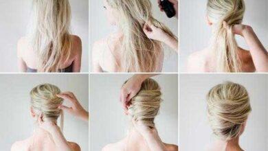 Foto de 8 penteados para fazer em 5 minutos