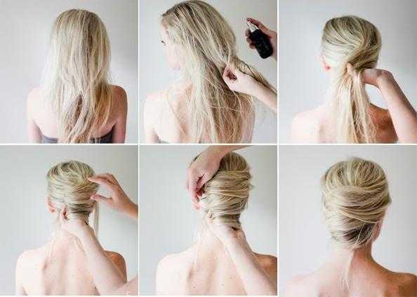 8 penteados para fazer em 5 minutos 6
