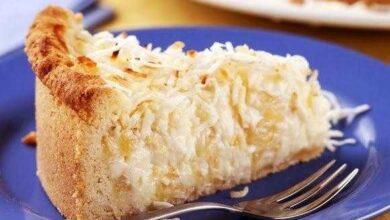 Foto de Torta cremosa de coco deliciosa