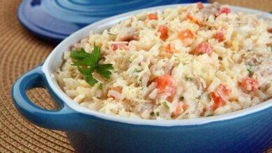 Como fazer arroz cremoso