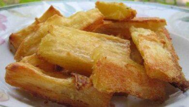 Como fazer Mandioca Frita no Forno