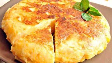 Foto de Receita de omelete de batata