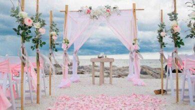 Foto de 84 fotos inspiradoras de casamento rosa