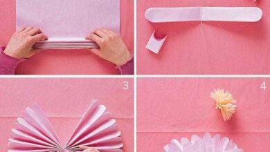 Como fazer pompom de papel