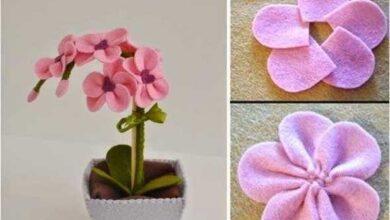 Foto de Ideias e dicas para fazer flores artesanais