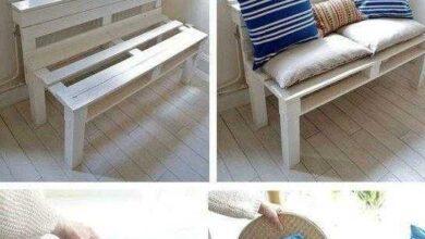 Foto de Como fazer Sofá de Pallet com Encosto