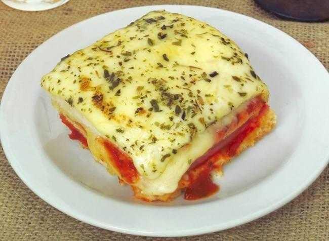 Receita de Sanduíche de Forno