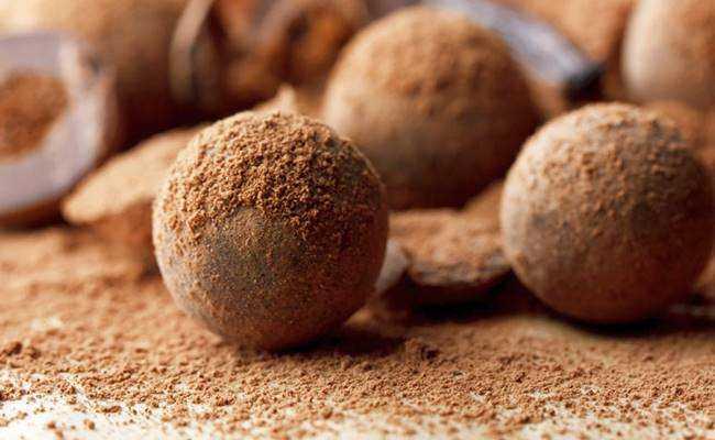 Receita de Trufa de Chocolate