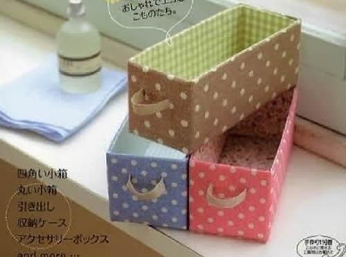 12 Lindos Artesanatos com Caixa de Leite Tetra Pak