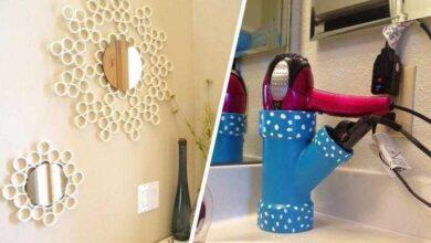 Foto de 16 objetos que você pode criar com cano de PVC