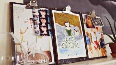 Foto de Como decorar uma prancheta de forma artesanal