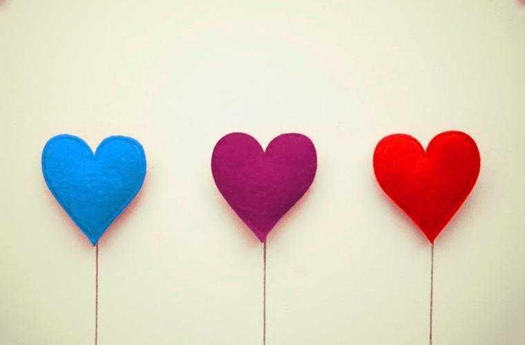 A diferença entre gostar, se apaixonar e amar