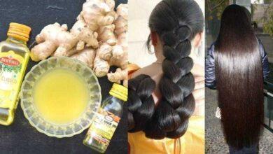 Recupere seu cabelo com gengibre