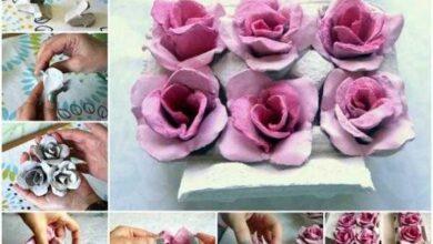 Foto de 14 Ideias para flores de material reciclável