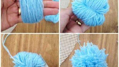 Photo of Como fazer chaveiro de Pompom de Lã