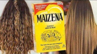 Repare os cabelos danificados com esta receita de maisena fa