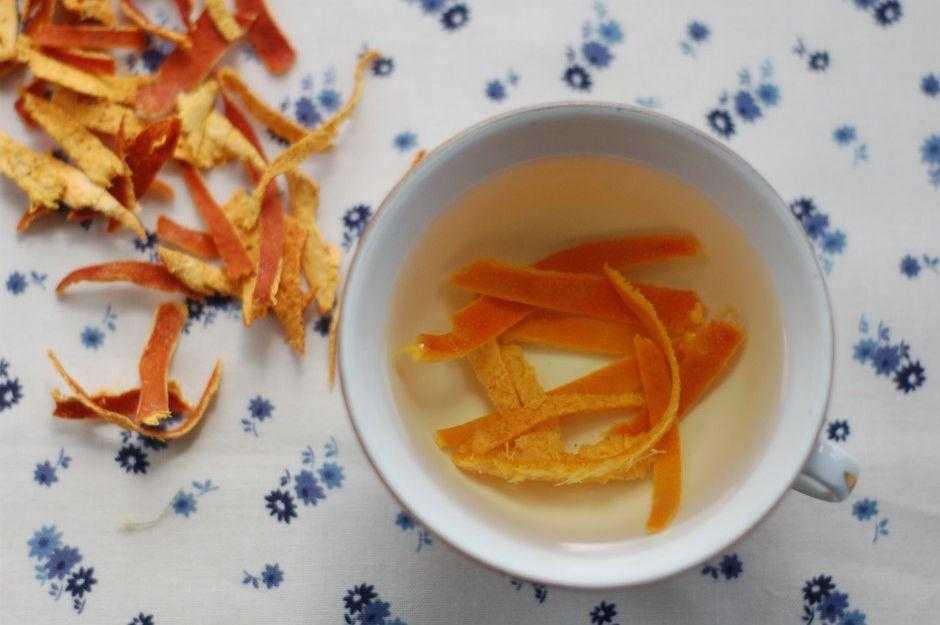 10 benefícios do chá da casca da laranja