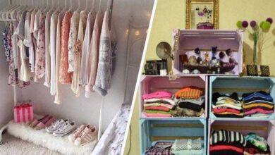 10 ideias para criar um armário minimalista gastando pouco