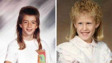 Foto de 10 penteados infantis bem estranhos dos anos 80 e 90