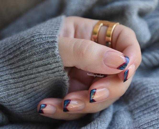 16 imagens que farão você querer adotar a francesinha para suas unhas