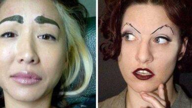 Foto de 25 personalizações de sobrancelhas para você NÃO se inspirar