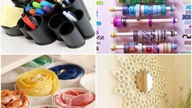 Foto de 30 Ideias com Canos PVC para Decoração e Organização