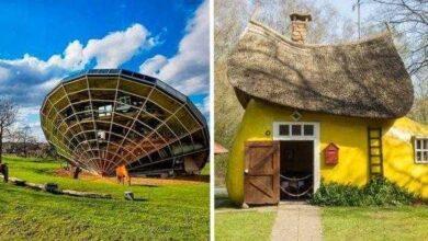 Foto de As 10 casas mais excêntricas que existem por este mundo fora!