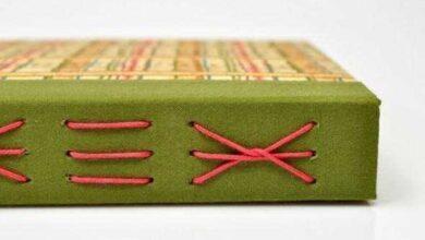 Foto de Como fazer caderno com costura aparente