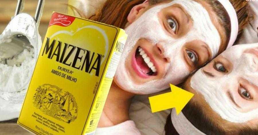 Como fazer máscara facial de maisena com efeito botox