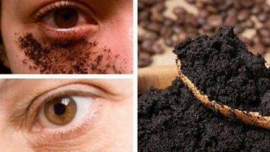Creme anti olheiras e antirrugas de café