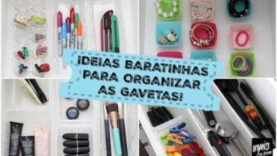 Foto de Ideias baratinhas e sustentáveis para organizar as gavetas