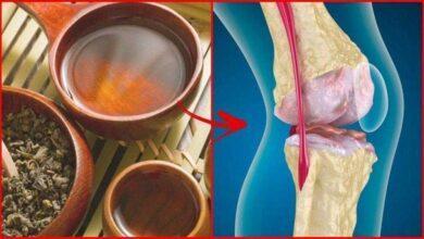 Receitas de chás para tratar dor nos ossos