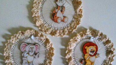 Foto de 25 Ideias de artesanato com cd e crochê