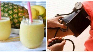 Bebida caseira para controlar pressão arterial