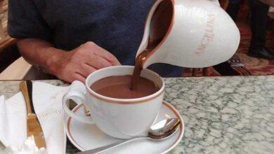 Foto de Receita de chocolate quente francês