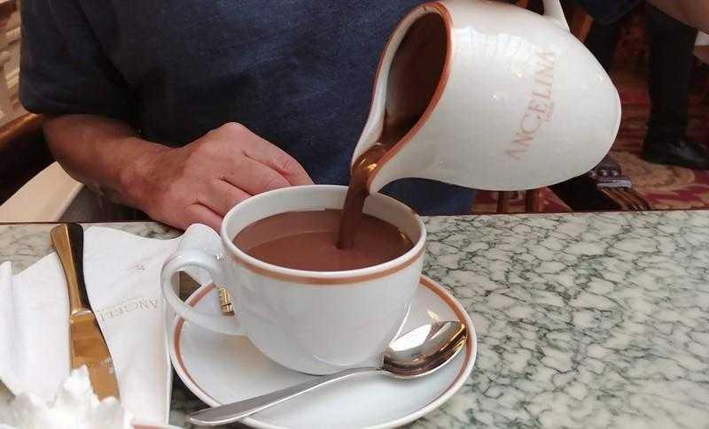 Receita de chocolate quente francês dd