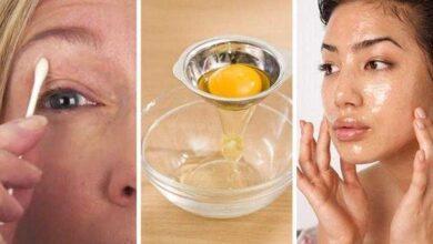 Photo of Tratamento de clara de ovo e casca de laranja para tonificar a pele