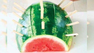 Aprenda a cortar melancia de forma eficaz e sem desperdícios