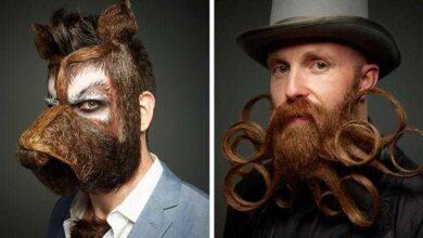 10 Barbas bem malucas e estranhas