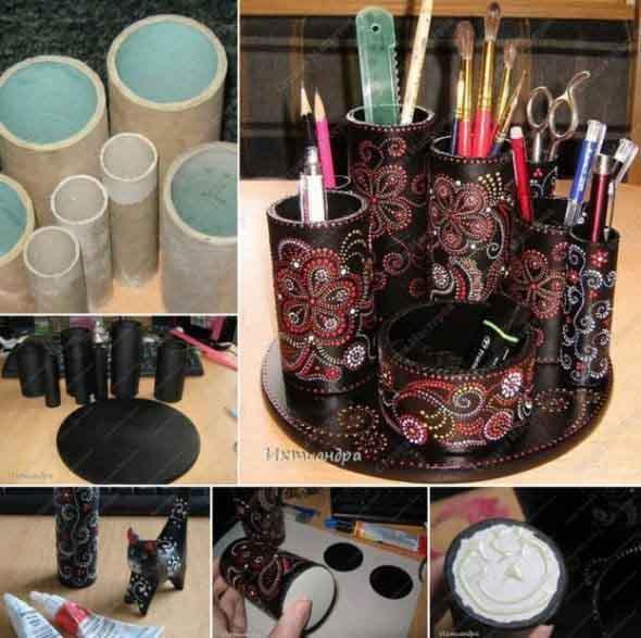 Exemplos reciclagem usada na decoração   Baú das DICAS