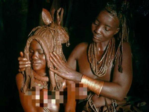 9 rituais assustadores de casamentos africanos 3