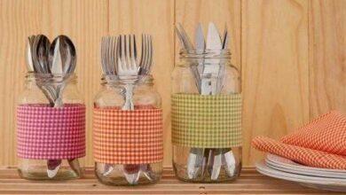 Foto de 28 Ideias para reciclar de vidro de azeitona