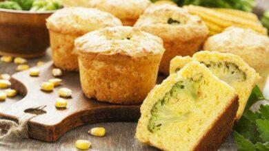 Como fazer Muffin de Brócolis d