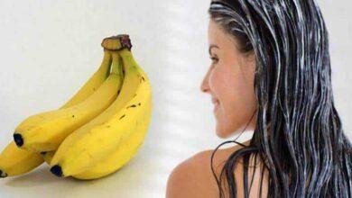 Foto de Máscara de banana no cabelo