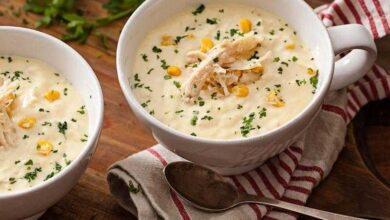 Como fazer sopa cremosa de frango fácil