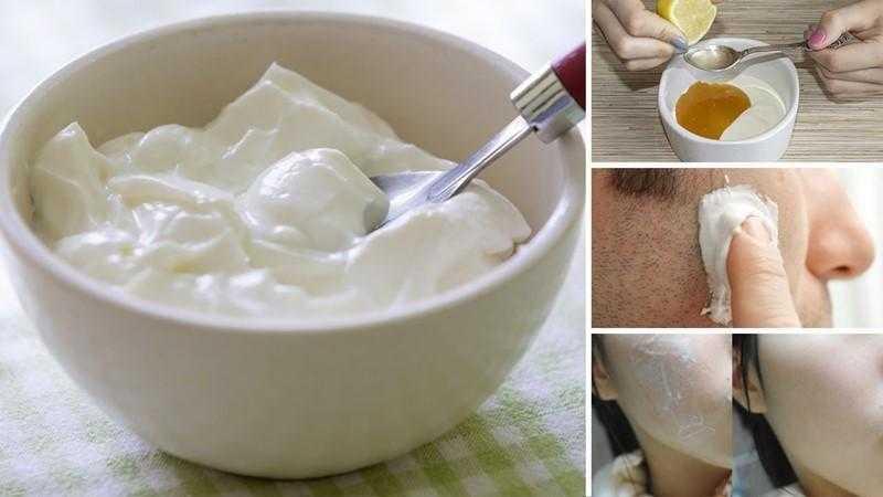 6 Benefícios do iogurte para a pele e o cabelo