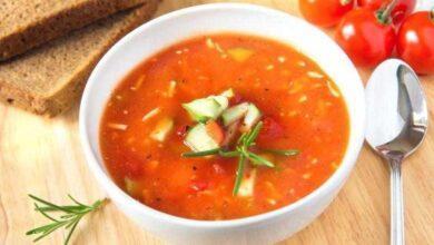 Foto de Confira os benefícios da sopa crua de tomate