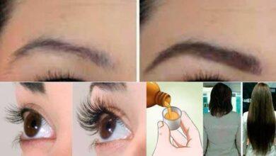 Óleo de rícino para fortalecer cabelo, sobrancelha e cílios